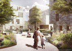 AlmenBolig+ Affordable Housing Winning Proposal,Courtesy of ONV Arkitekter + JAJA Architects