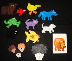 Brown Bear Brown Bear What Do You See11 Pieces by flirtyflannels66, $21.00