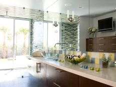 Painting Countertops for a New Look   Bathroom Ideas & Designs   HGTV