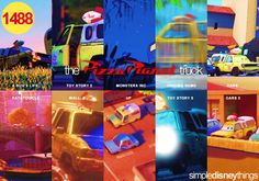 oh the easter eggs that happen in pixar and disney ♥