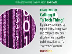 #Big #Data : a tech thing