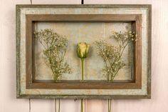 "COLOREL-Rahmen mit Blumenvasen ""Barock gold/mint"""