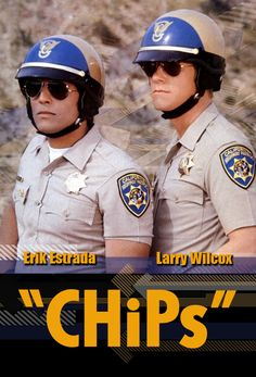 Erik Estrada and Larry Wilcox as Ponch and Jon Top Des Series, 80s Tv Series, 80 Tv Shows, Old Shows, Arnold Et Willy, Radios, Chips Series, Larry Wilcox, Mejores Series Tv