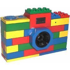 Digital Blue LEGO Classic Brick Digital Camera 3-Megapixel 1.5 Color LCD Screen