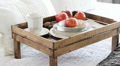 Ένας όμορφος δίσκος πρωινού θα προσθέσει στιλ στο δωμάτιό σας.