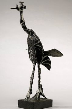 'Crane,' in painted bronze, sold at Sotheby's for $19.1 million in 2008 Pablo Picasso paintings, sculptures, plastic arts, visual arts, fine art