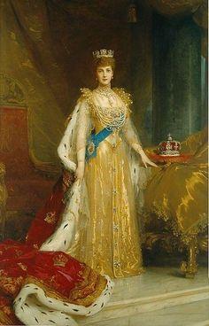 Princess Alexandra of Denmark by Sir Samuel Luke Fildes, RA (English 1843 – 1927)