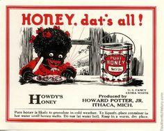 Vintage Racist Ads | Vintage Racist Advertising - Black Hair Media Forum - Page 7