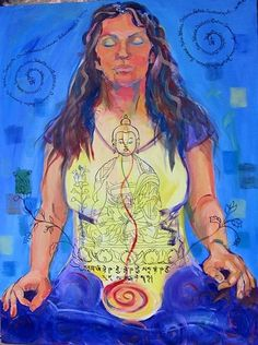 faithstoneart Buddha Meditation, Healing Meditation, Thangka Painting, Pagan Art, Hindu Art, Buddhist Art, Disney Characters, Fictional Characters, Culture
