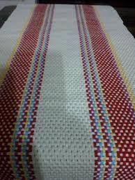 Resultado de imagen para puntos en telar maria para camino de mesa