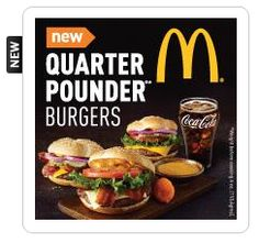 FREE McDonald's Quarter Pounder Burger for 50 My Coke Rewards Points is still available if you missed this! on http://hunt4freebies.com/