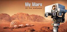 #MyMars #LiveWallpaper per #Android - a spasso con in #Rover su #Marte!  http://xantarmob.altervista.org/?p=34667   #wallpaper #mars