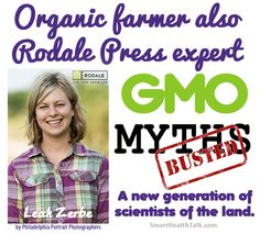 #GMO Myths by @LeahZerbe @RodaleNews @Rodale Institute. Confused? Here is a source you can trust. Find out the truth about GMOs. http://www.smarthealthtalk.com/blog/rodales-online-editor-leah-zerbe-on-gmo-myths#.VJhZGsAM