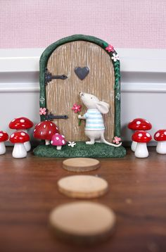 Marvin the mouse fairy door.