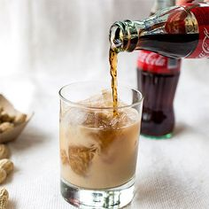 Tallulah: Three classic Southern flavors—whiskey, Coke, and peanuts—come together in a cocktail glass (or red Solo cup).