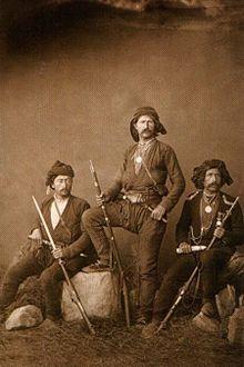 Lazs people - native to the Black Sea coastal regions of Turkey and Georgia -- ca.1900s