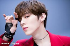 """Click for full resolution. X1's Kim Wooseok """"FLASH"""" promotion photoshoot by Naver x Dispatch"""