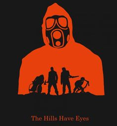 """""""The hills have eyes"""" alternative movie poster by Alan Coughlan."""