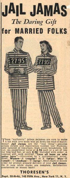 Jail Jamas advertisement