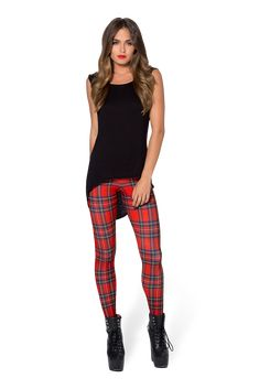 Tartan Red Toasties by Black Milk Clothing $80AUD