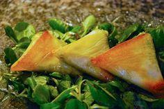 samossas courgettes chevre Combinaison gourmande Samossas au chèvre et aux courgettes