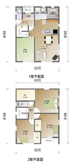 間取り 企画プラン 32坪 Floor Plans, Flooring, Hardwood Floor, House Floor Plans, Floor, Paving Stones