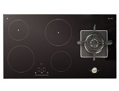 Induction Hob & Gas Wok combined