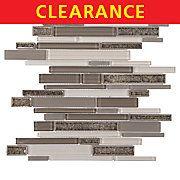Clearance! Riva Lake Linear Stick Glass Mosaic