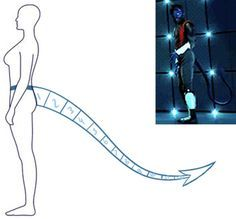 OHI Cosplay • NIGHTCRAWLER TAIL TUTORIAL More
