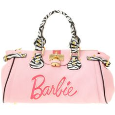 Paul's Boutique Loves Barbie Zebra Trim Padlock Bag - I just brought this bag!!! Oh my god, i'm so excited to get it!!! XD