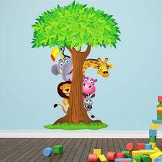 wandtattoo kinderzimmer dschungel am bild oder cbfbacefccbcc jungle