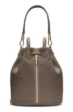 ELIZABETH AND JAMES 'Cynnie' Leather Sling Backpack. #elizabethandjames #bags #leather #backpacks #