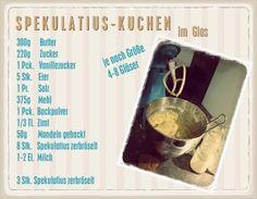 WUNDERBUND: Spekulatius - Kuchen im Glas