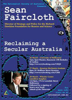 The Rationalist Society of Australia University Of Melbourne, Richard Dawkins, Atheism, Foundation, Australia, Science, Foundation Series