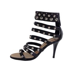 Make a statement with these studded sandals this summer!
