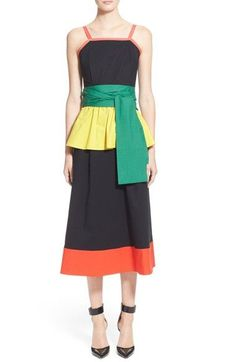 Isa Arfen Colorblock Wrap Dress available at #Nordstrom