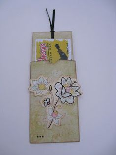 Upcycled Gift Card Holders