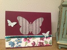 Stampin' Up sale-a-bration 2015 products.  For Being you stamp set, Sheer perfection designer Vellum, Butterflies thinlits www.jackieross.stampinup.net