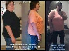 Here ya go friends!  My name is Linda and want to tell you a little about my journey with Skinny Fiber. I started 11/28/2012 weighing almost 270 pounds. I was introduced to skinny fiber by a wonderful friend of mine and I saw her talking about it on facebook. I knew I needed to do something so I could live long enough to spend time with my grandkids. I gave in and my husband gave me enough money to buy a bottle. I haven't been able to work due to back issues since 2009 so I depended on my…