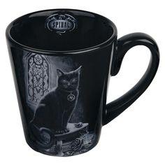 """Spiral Tasse """"Black Cat"""" • EMP"""