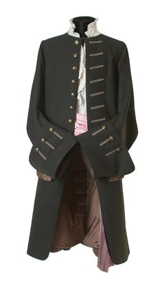 Long Coats – Limeted Edition-Couture Coat for women and men – a unique product by thimbelle on DaWanda Pirate Costume Couple, Couple Halloween Costumes For Adults, Costumes For Women, Teen Costumes, Woman Costumes, Couple Costumes, Pirate Costumes, Larp, Pirate Jacket