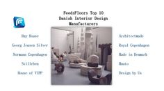 Who are yours favourite design manufacturers? #design #B2B #business #FeedsFloor