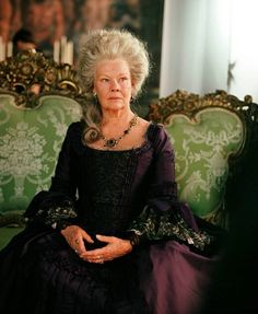 Judy Dench as Auntie Jocasta.Really?