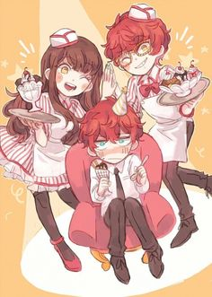 Mc, MM, and 707 이미지