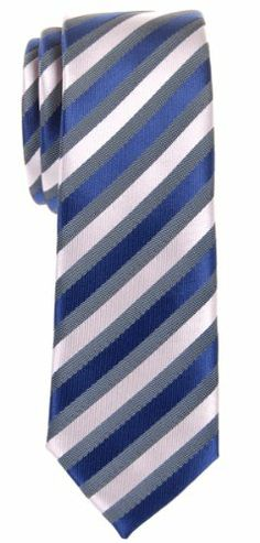 Retreez Retro Three-Color Striped Woven Microfiber Skinny Tie - Navy Blue, Grey, Silver Retreez,http://www.amazon.com/dp/B00FQEIA3Y/ref=cm_sw_r_pi_dp_LfWEtb18JVNRHQN7