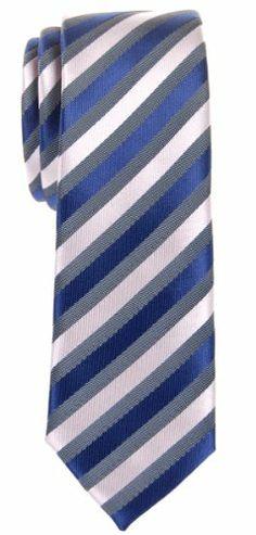 Retreez Retro Three-Color Striped Woven Microfiber Skinny Tie - Navy Blue, Grey, Silver Retreez,http://www.amazon.com/dp/B00FQEIA3Y/ref=cm_sw_r_pi_dp_LfWEtb18JVNRHQN7