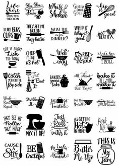 This Fun Kitchen SVG bundle includes 77 Kitchen elements & quotes Cut Files. You can use the files with your Cricut, Cameo Silhouette or other major home electric cutting machines. If you have Silhouette Cameo BASIC version, you will need to use DXF, Easy Diy Crafts, Diy Crafts To Sell, Sell Diy, Decor Crafts, Simple Crafts, Shilouette Cameo, Cricut Explore Air, Cricut Creations, Silhouette Projects