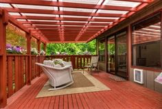 Traditional Porch with Trellis