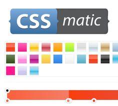 CSSmatic, the Great Visual CSS3 Tool - Awwwards - http://www.awwwards.com/cssmatic-the-great-visual-css3-tool.html