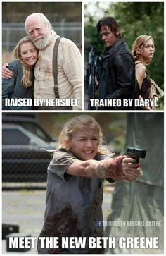 TWD - I will be so very sad if she dies :( <--that is what the last person saidLOL